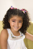 Happy Beautiful Little Girl Royalty Free Stock Images