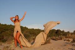 Happy beautiful woman Royalty Free Stock Photography