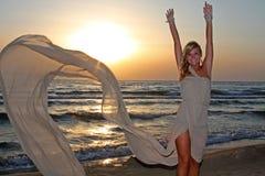 Happy beautiful woman Royalty Free Stock Photos