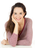 Happy beautiful young woman Royalty Free Stock Image