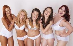 Happy beauty girls Royalty Free Stock Image