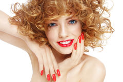 Happy beauty Stock Photography