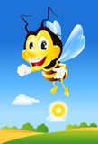 Happy bee Royalty Free Stock Photography