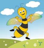 Happy Bee Stock Photography