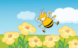 Happy bee Stock Photos