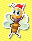 Happy bee Royalty Free Stock Photo