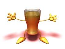 Happy beer Stock Photography