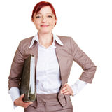 Best ager business woman Royalty Free Stock Photography