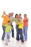 Happy big family Royalty Free Stock Photography
