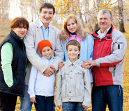 Happy big family Royalty Free Stock Image