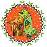 Happy bird Royalty Free Stock Images