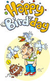 Happy birdday Stock Photography