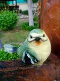 Happy birds Decorative garden Royalty Free Stock Images