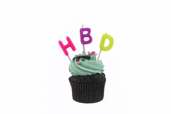 Happy Birth Day cake Stock Photography