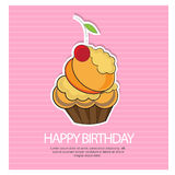 Happy birth day Stock Images