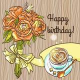 Happy birthay Royalty Free Stock Photo
