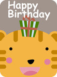 Happy birthday royalty free illustration