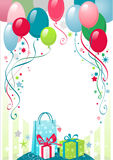 Happy birthday. Background with space for text Stock Images