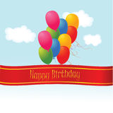 Happy Birthday. Illustration which can be used for Birthday occasion Royalty Free Stock Image