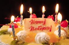 Happy Birthday Cake Royalty Free Stock Photo