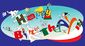 Happy Birthday! Royalty Free Stock Photography