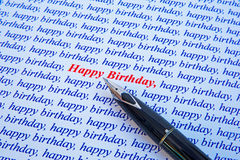 Happy Birthday. royalty free stock image