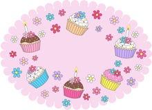 Happy birthday. Illustration of a digital happy birthday card Royalty Free Stock Images