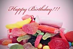 Happy birthday Royalty Free Stock Photos