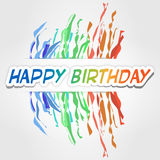 Happy birthday Royalty Free Stock Images