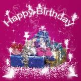 Happy Birthday. Use to birthday card or something else Royalty Free Stock Photos