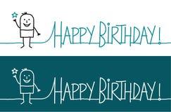 Happy birthday ! vector illustration