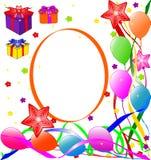 Happy Birthday background. Vector illustration of Happy Birthday background Royalty Free Stock Photos