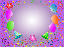 Happy Birthday background Royalty Free Stock Image