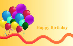 Happy Birthday background Royalty Free Stock Photos