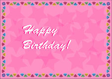 Happy Birthday Background Royalty Free Stock Images
