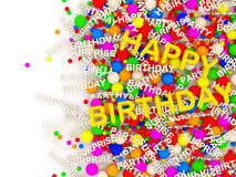 Happy Birthday Background with place for your text Royalty Free Stock Photography