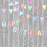 Happy birthday background Stock Photos