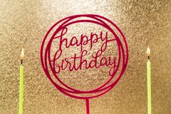 Happy birthday background. Take a close look at the happy birthday golden background stock images
