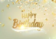 Happy birthday background. Royalty Free Stock Image