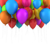 Happy Birthday Balloons Stock Image