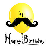 Happy Birthday balloons smile Royalty Free Stock Images