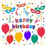 Happy birthday banner Stock Photo