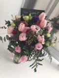 "Happy birthday. Beautiful gift.""happy birthday ""flowers stock photos"