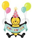 Happy Birthday Bee Stock Images