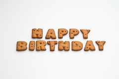 Happy Birthday By Biscuits