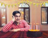 Happy birthday boy Royalty Free Stock Photo