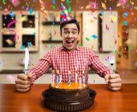 Happy birthday boy Stock Photos