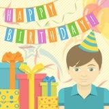 Happy Birthday Boy Stock Photography