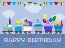 Happy Birthday for boys Royalty Free Stock Photos