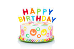 Free Happy Birthday Cake Royalty Free Stock Photography - 53938227